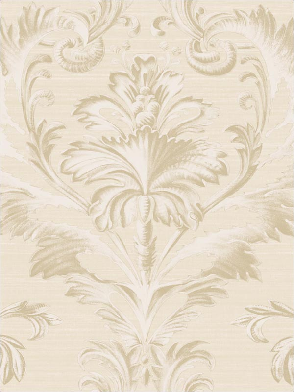 Tangler Brilliant Damask | Evans & Brown for Brewster Home Fashions