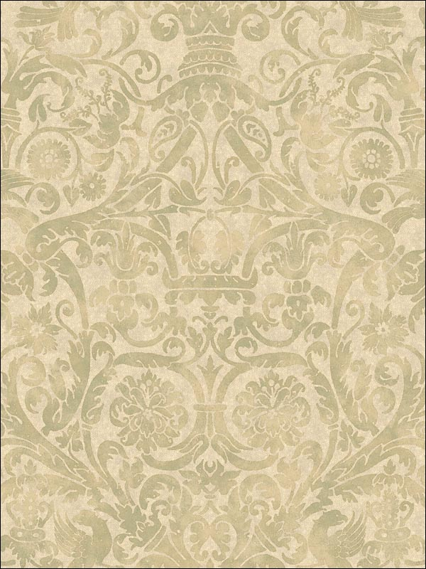 Bali Damask | Evans & Brown for Brewster Home Fashions