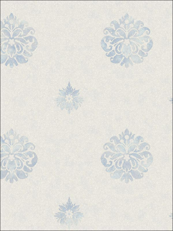 Meadow Medallion   Evans & Brown for Brewster Home Fashions