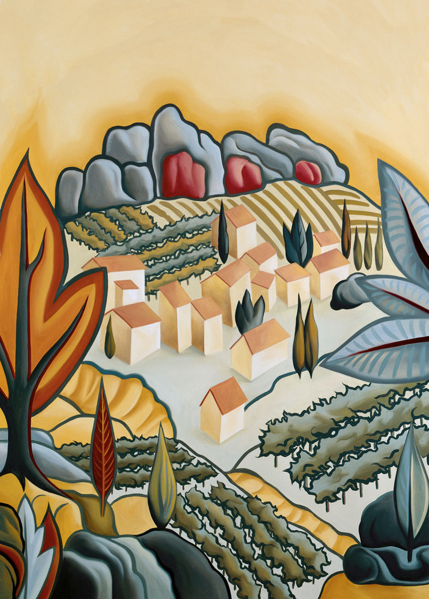 Tuscan Village Hill Town | Evans & Brown for Koroseal