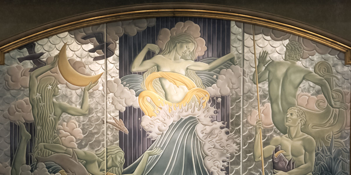 Masterly murals and wallcovering | Evans & Brown