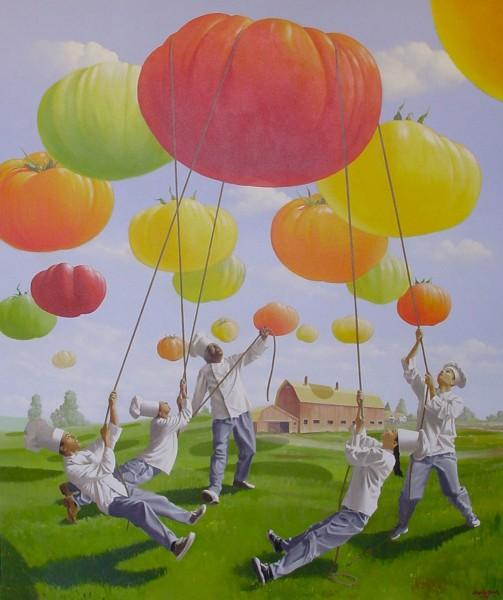 Bradley Ogden's | Evans & Brown Mural Art