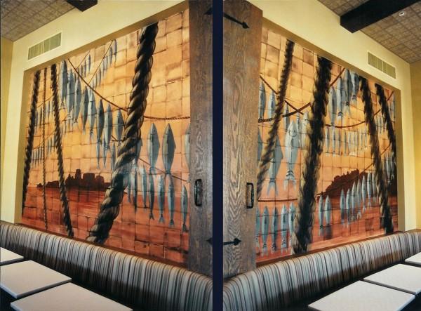 California Adventure | Evans & Brown Mural Art