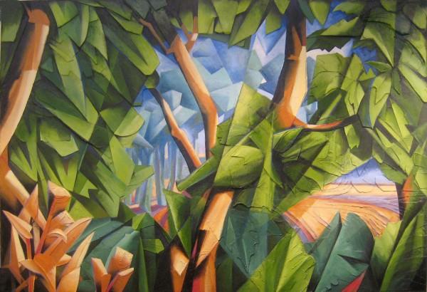 Wynn Resorts   Evans & Brown mural art