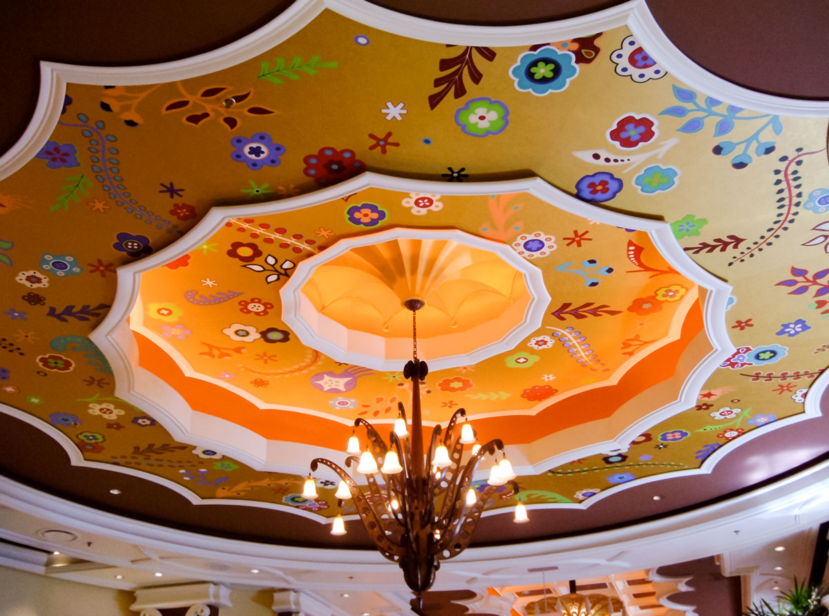 Wynn Resorts | Evans & Brown mural art