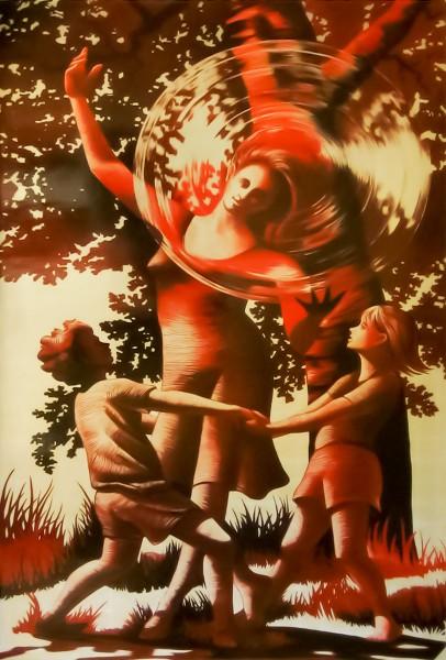 Almaden | Evans & Brown mural art