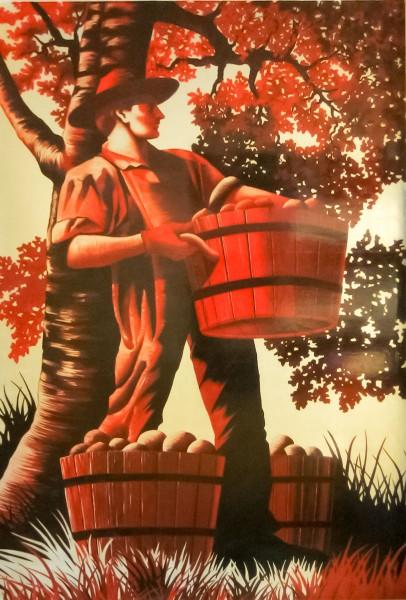 Almaden   Evans & Brown mural art
