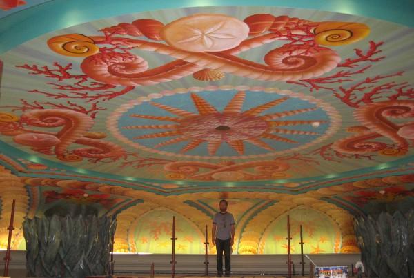 Atlantis, The Palm   Evans & Brown mural art