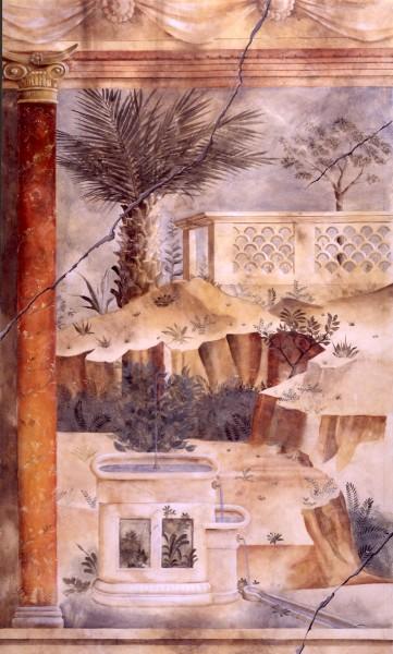 U. S. Embassy, Cyprus | Evans & Brown mural art