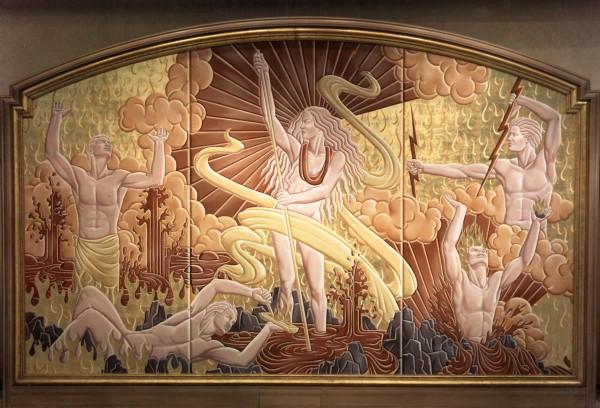Grand Wailea Resort | Evans & Brown mural art