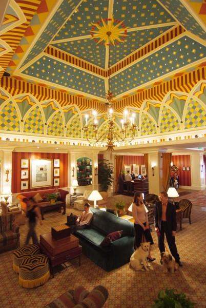 Hotel Monaco, Denver | Evans & Brown mural art