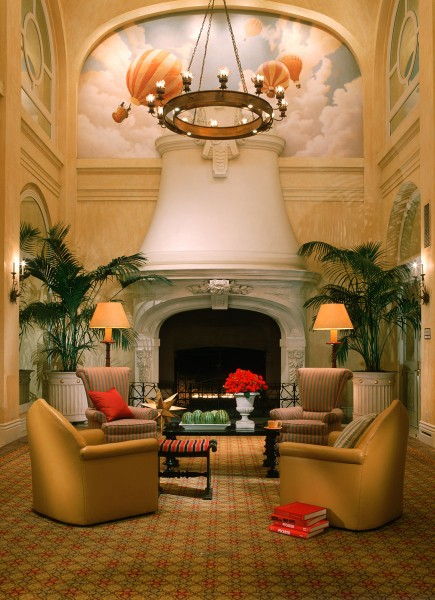 Monaco Hotel, San Francisco | Evans & Brown mural art