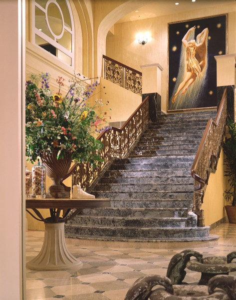 Monaco Hotel, San Francisco   Evans & Brown mural art