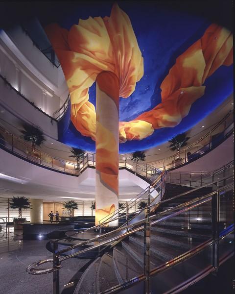 Yokohama Bay Hotel Tokyu | Evans & Brown mural art