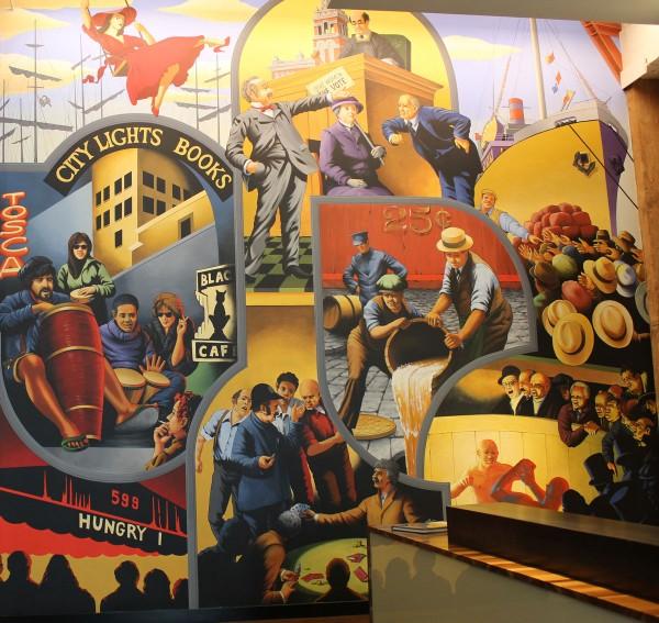 Keker & Van Nest | Evans & Brown mural art