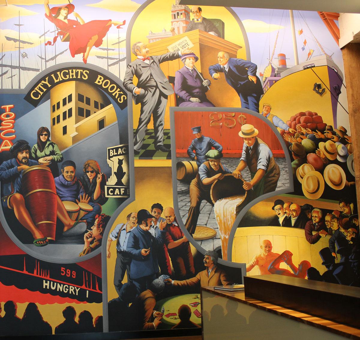 Keker & Van Nest   Evans & Brown mural art