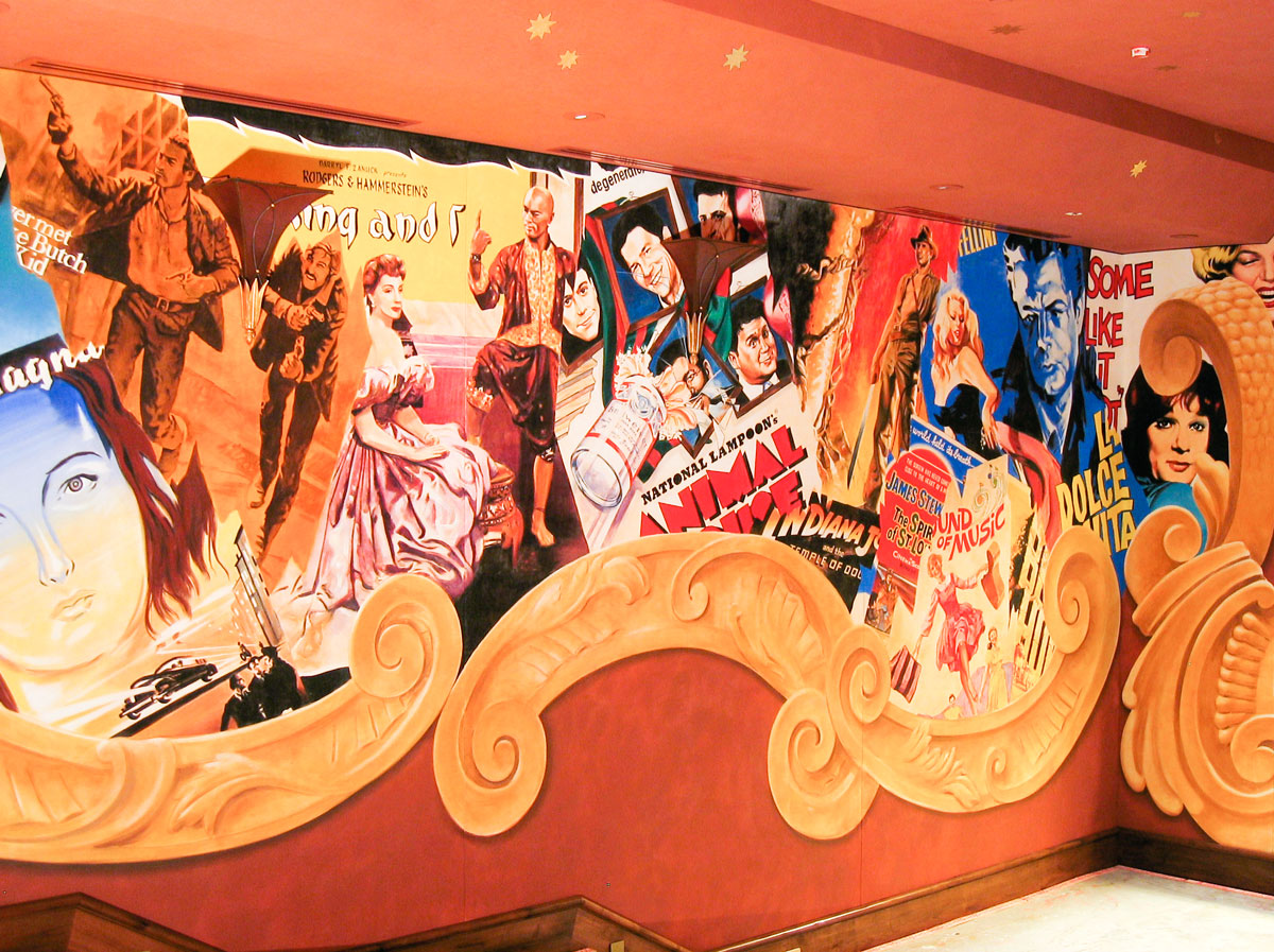 Private theater |Evans & Brown mural art