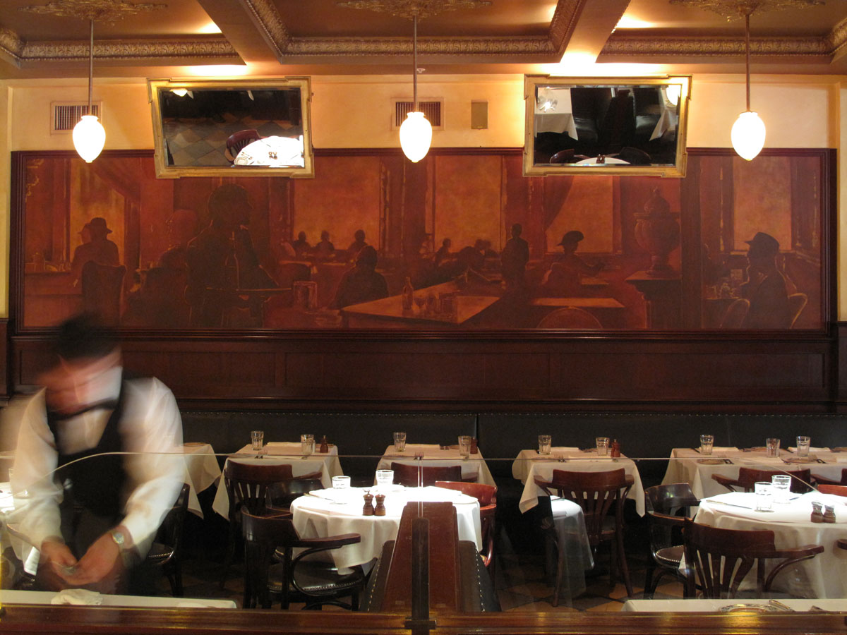 Scala's Bistro | Evans & Brown Mural Art
